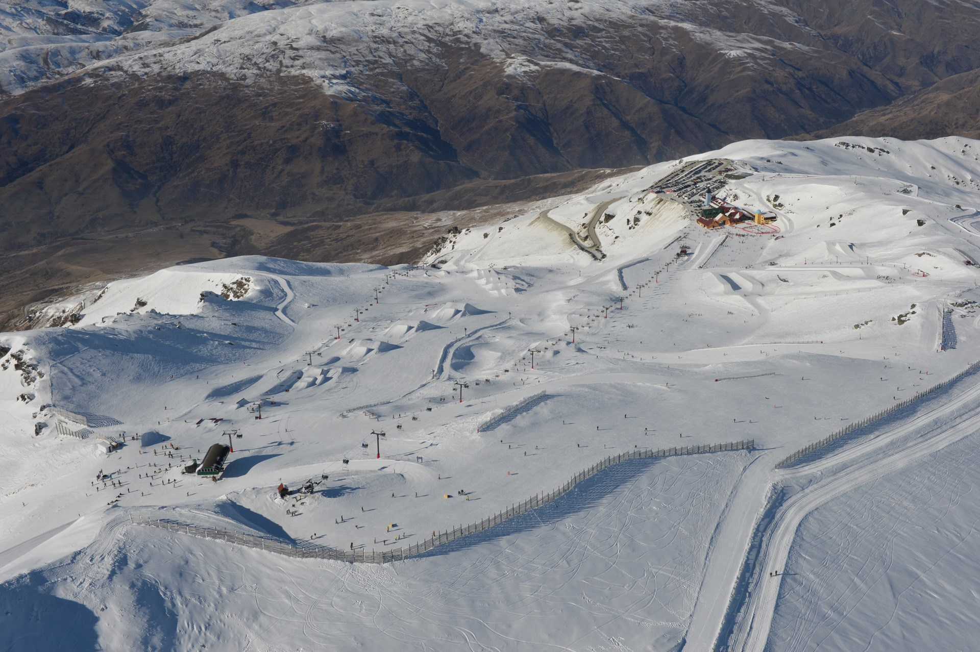 Cardrona Alpine Resort Trail Map Basin