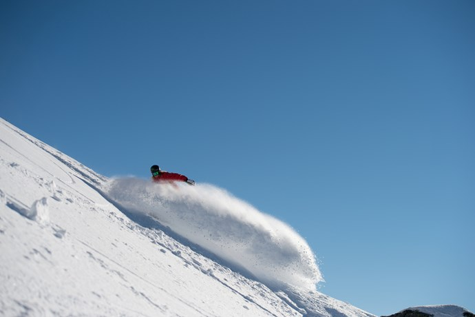Cardrona ski snowboard lessons winter New Zealand
