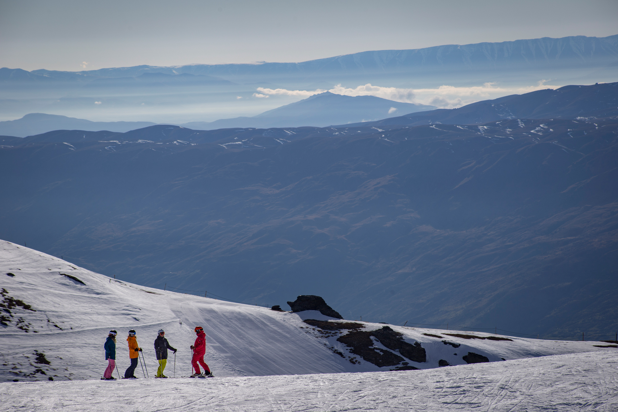 Cardrona ski snowboard lessons winter New Zealand queenstown