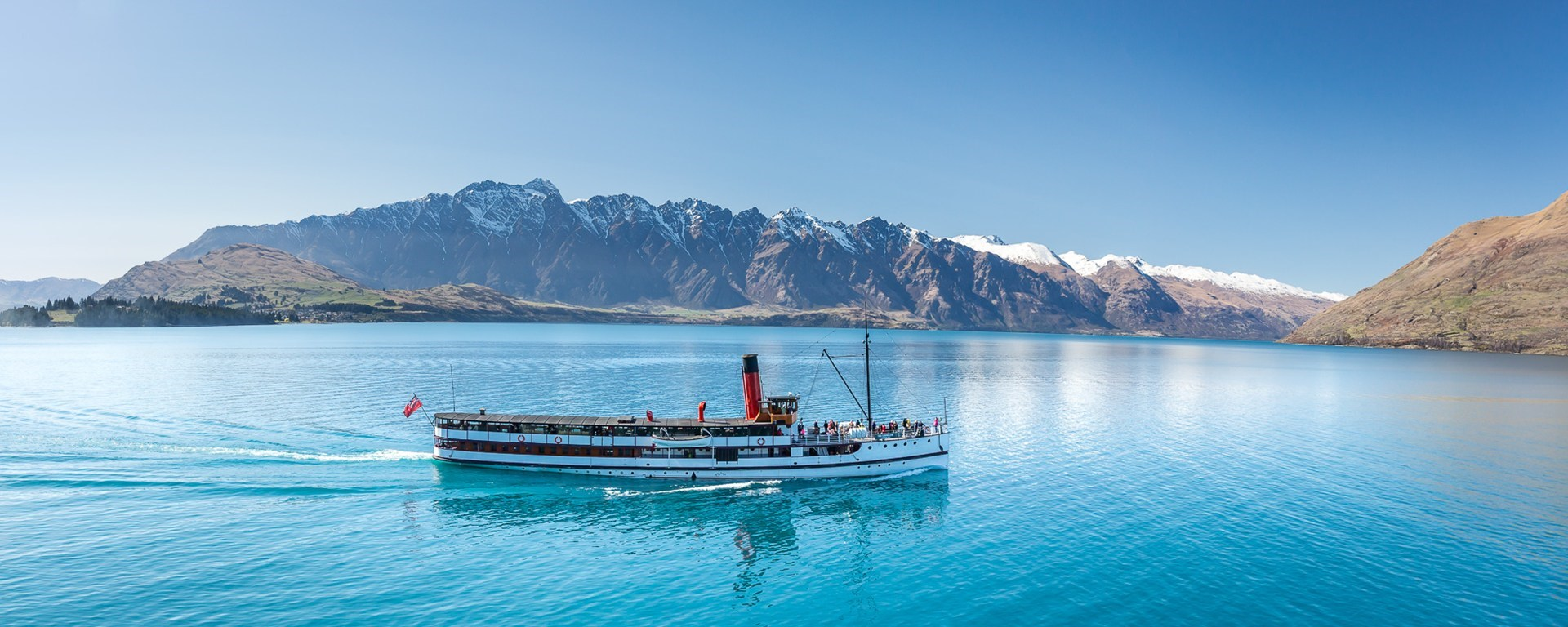 TSS Earnslaw Queenstown Cardrona