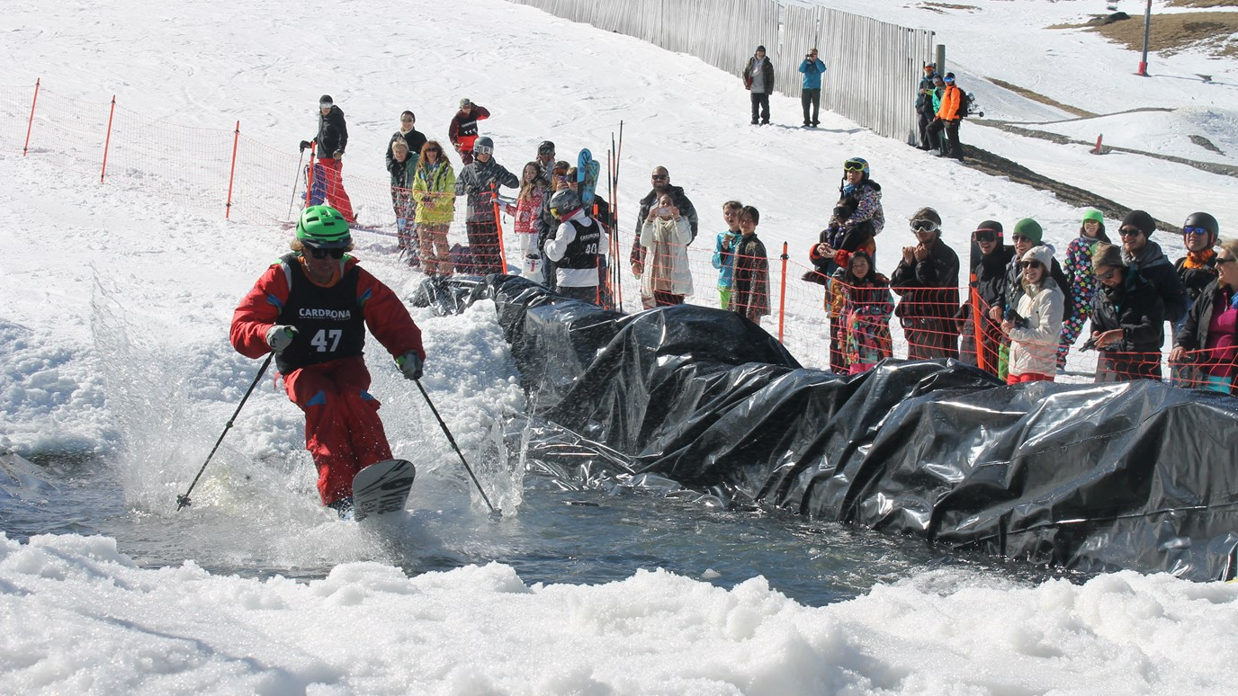 Fun Never Stops Pond Skim