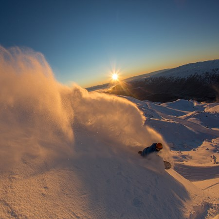 Cardrona Will Jackways Big Mountain Powder