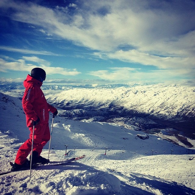Cardrona ski resort - Wanaka ski - learn to ski