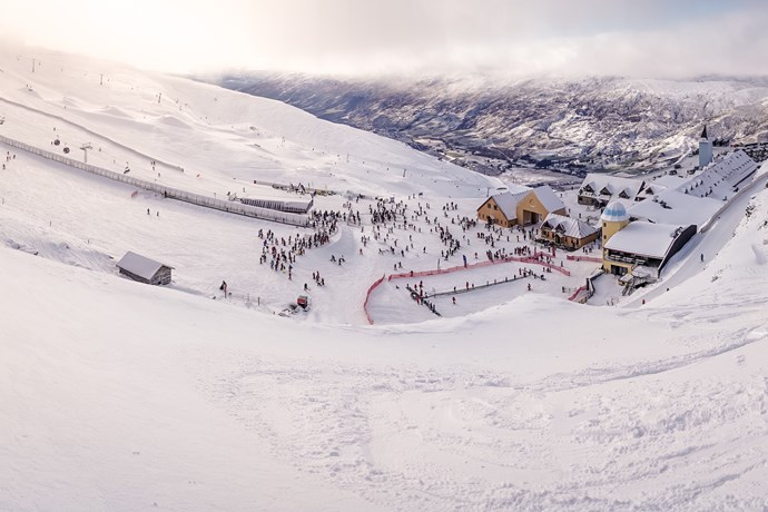 cardrona snowy base area