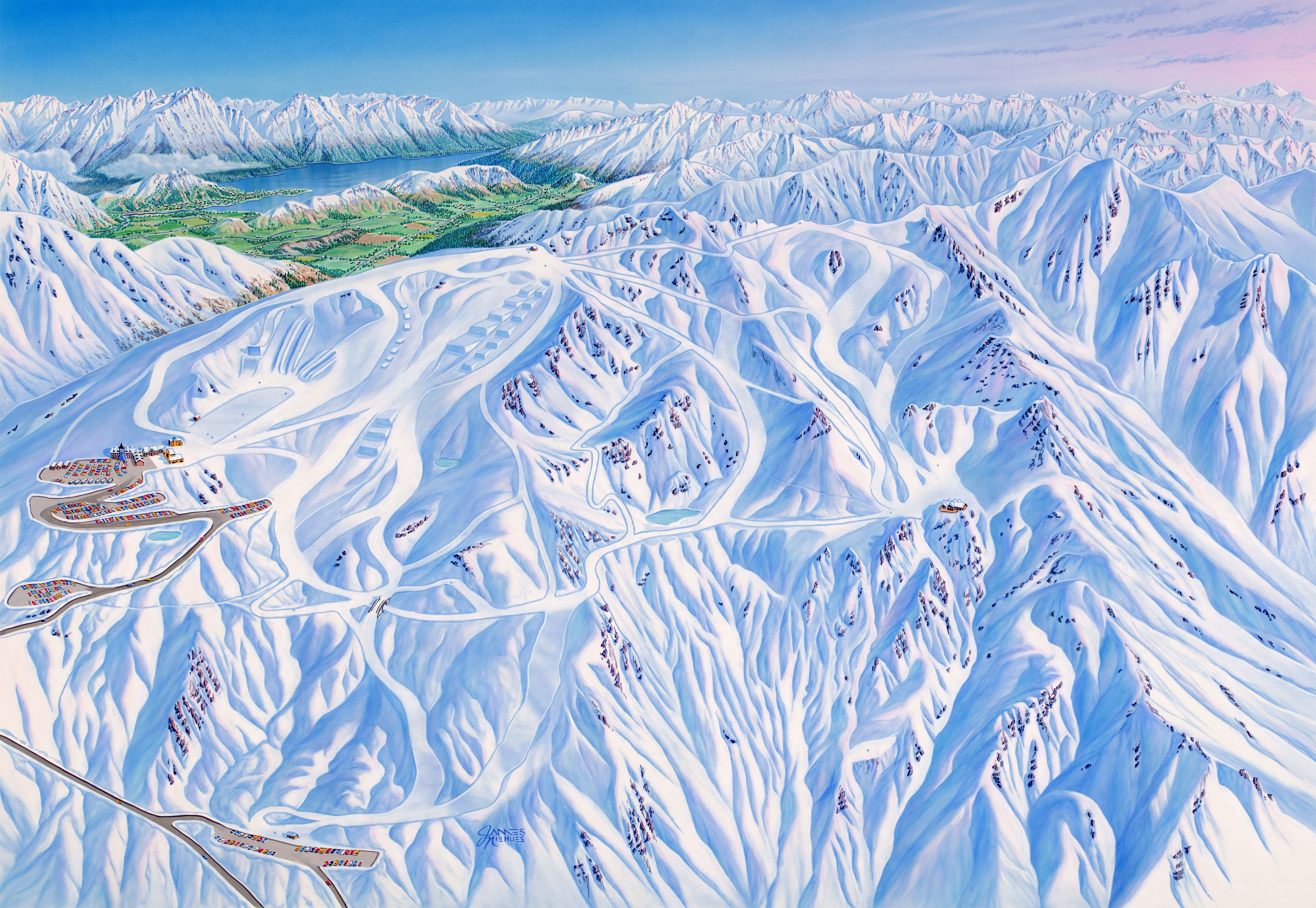 cardrona-trail-map-Queenstown ski field -ski field queenstown-