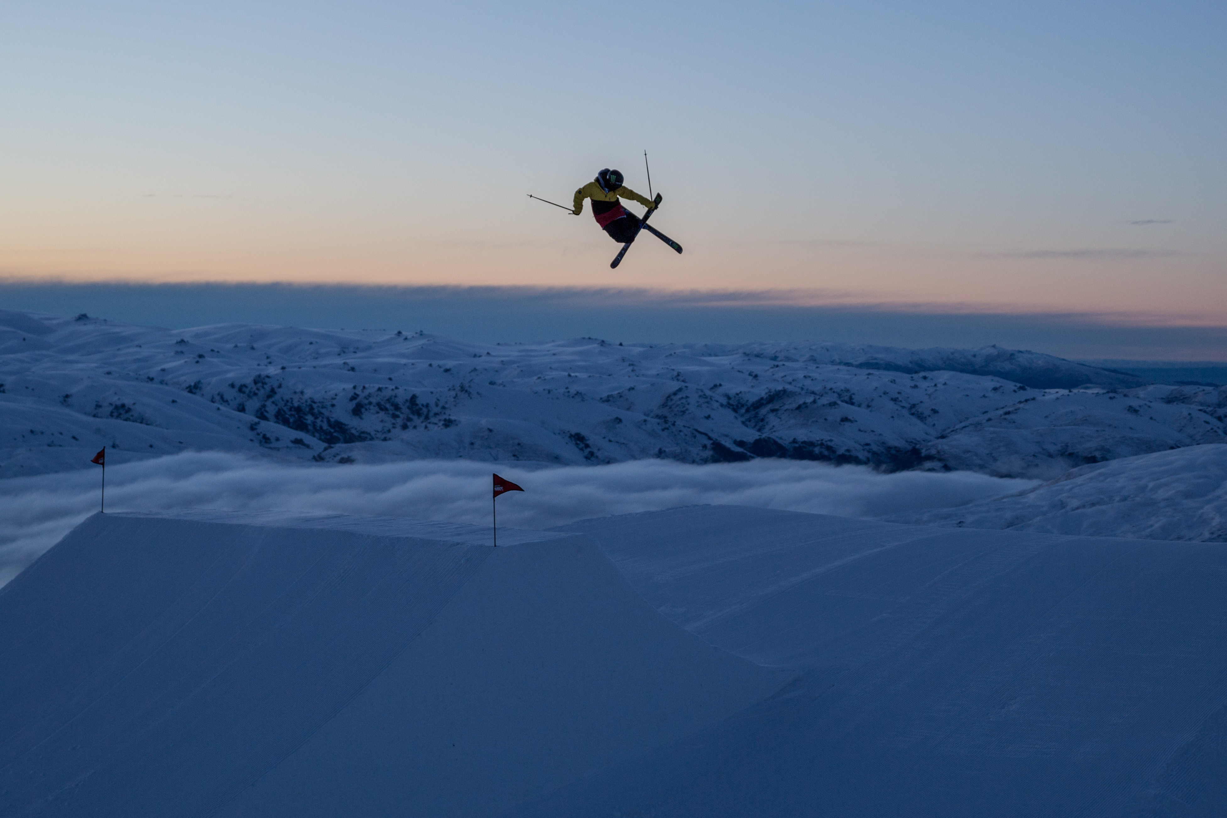 cardrona big air jump ski snowboard