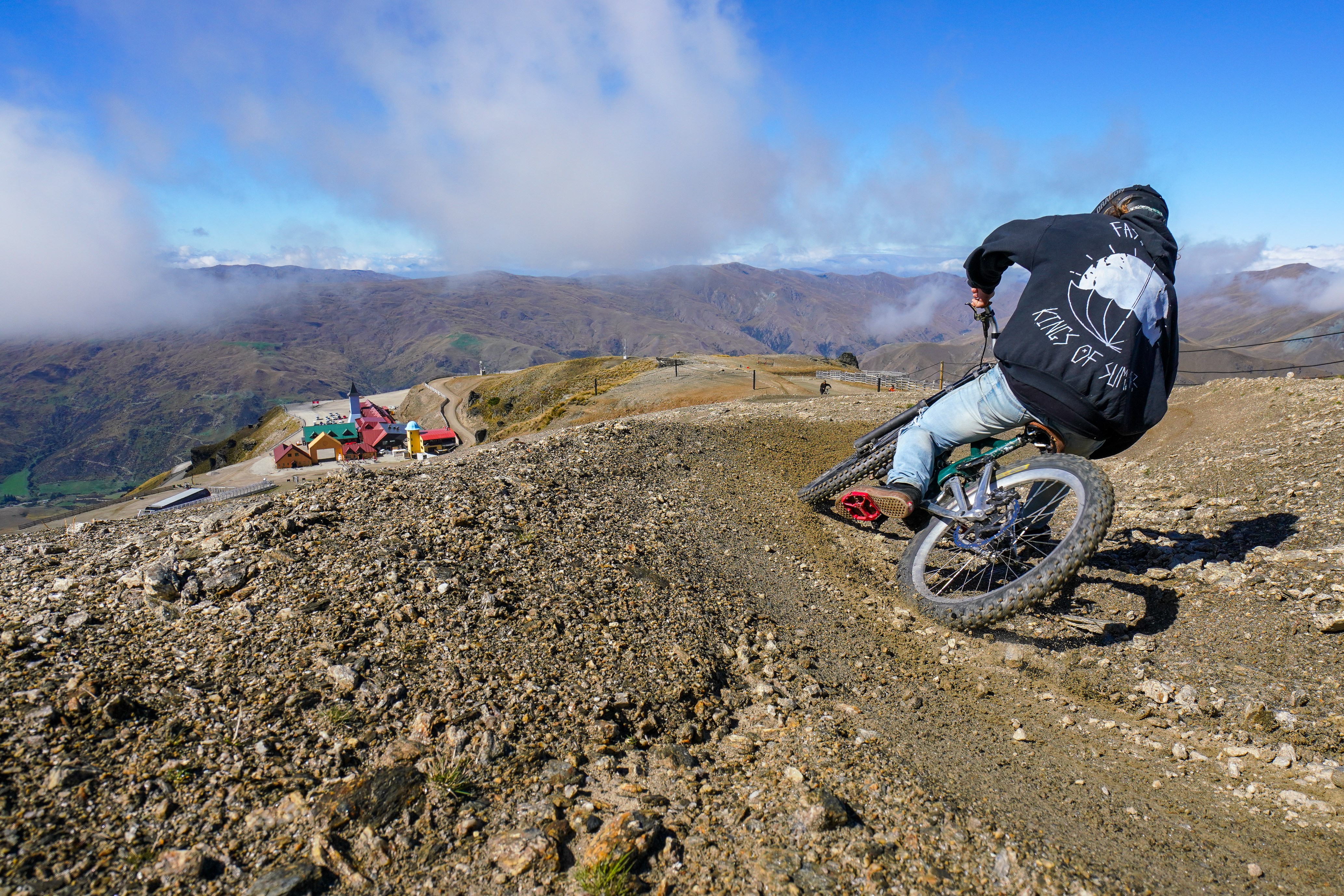 cardrona mountain bike park afternoon delight mountain biking
