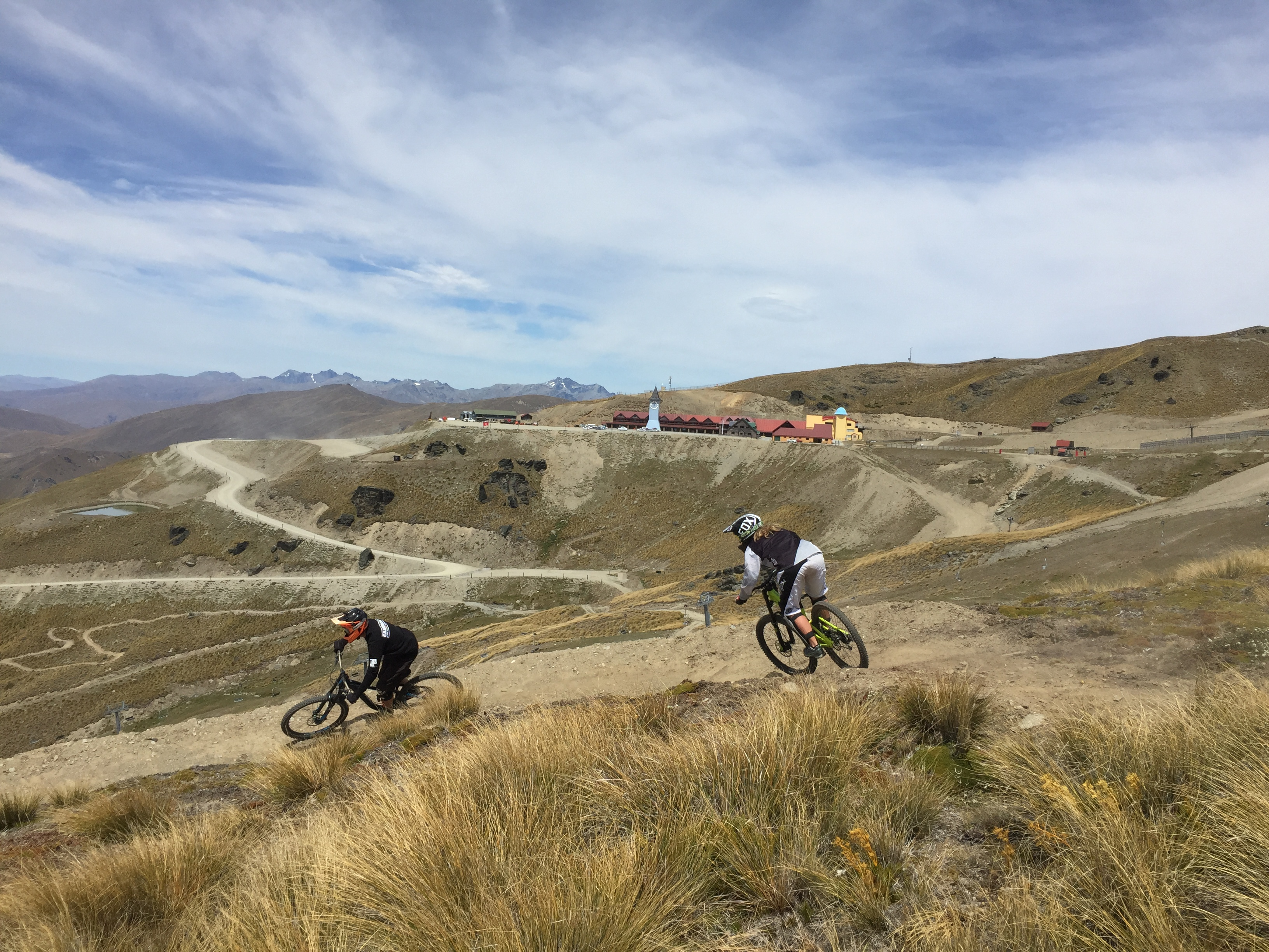 cardrona mountain bike park bike school lessons