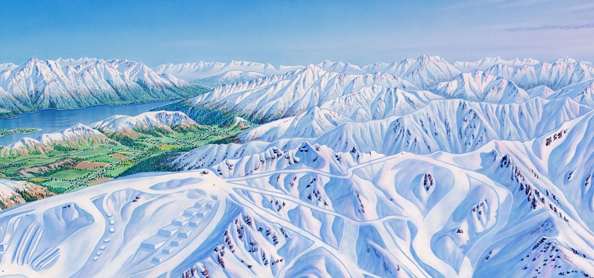 Cardrona mountain winter snow New Zealand