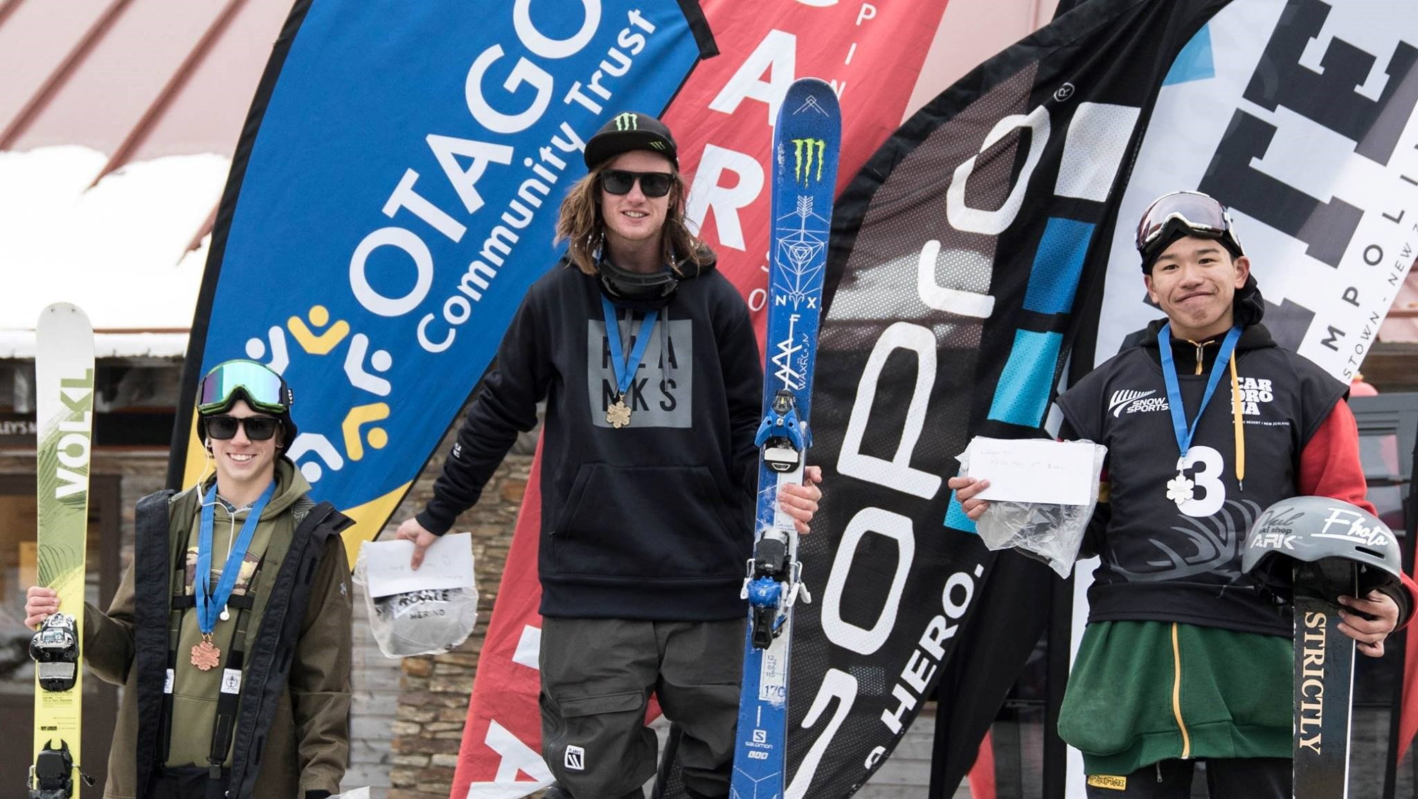 James Woodsy Woods at Cardrona Games