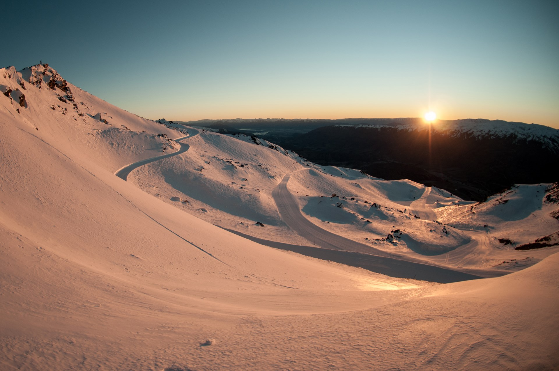 Cardrona peak sunrise