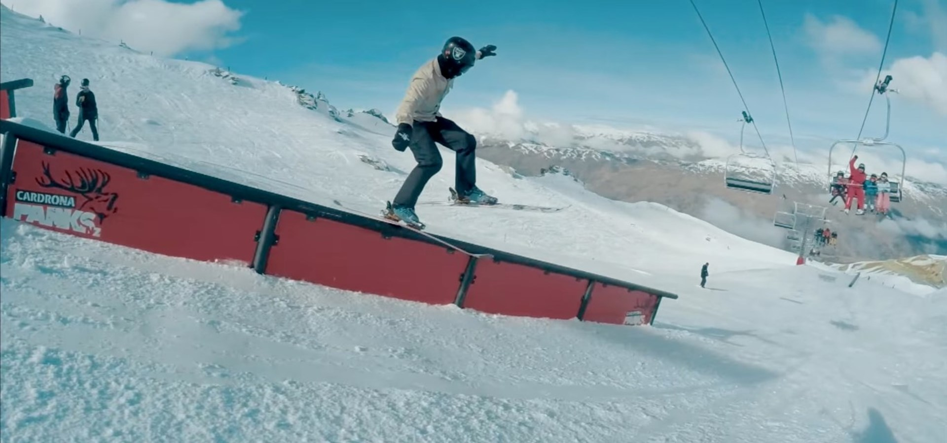 Wacko Wells Go Pro One Line at Cardrona Stag Lane