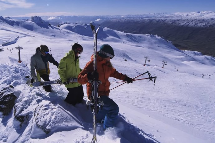 Cardrona - Ski fields in Queenstown - Basin - learn to ski