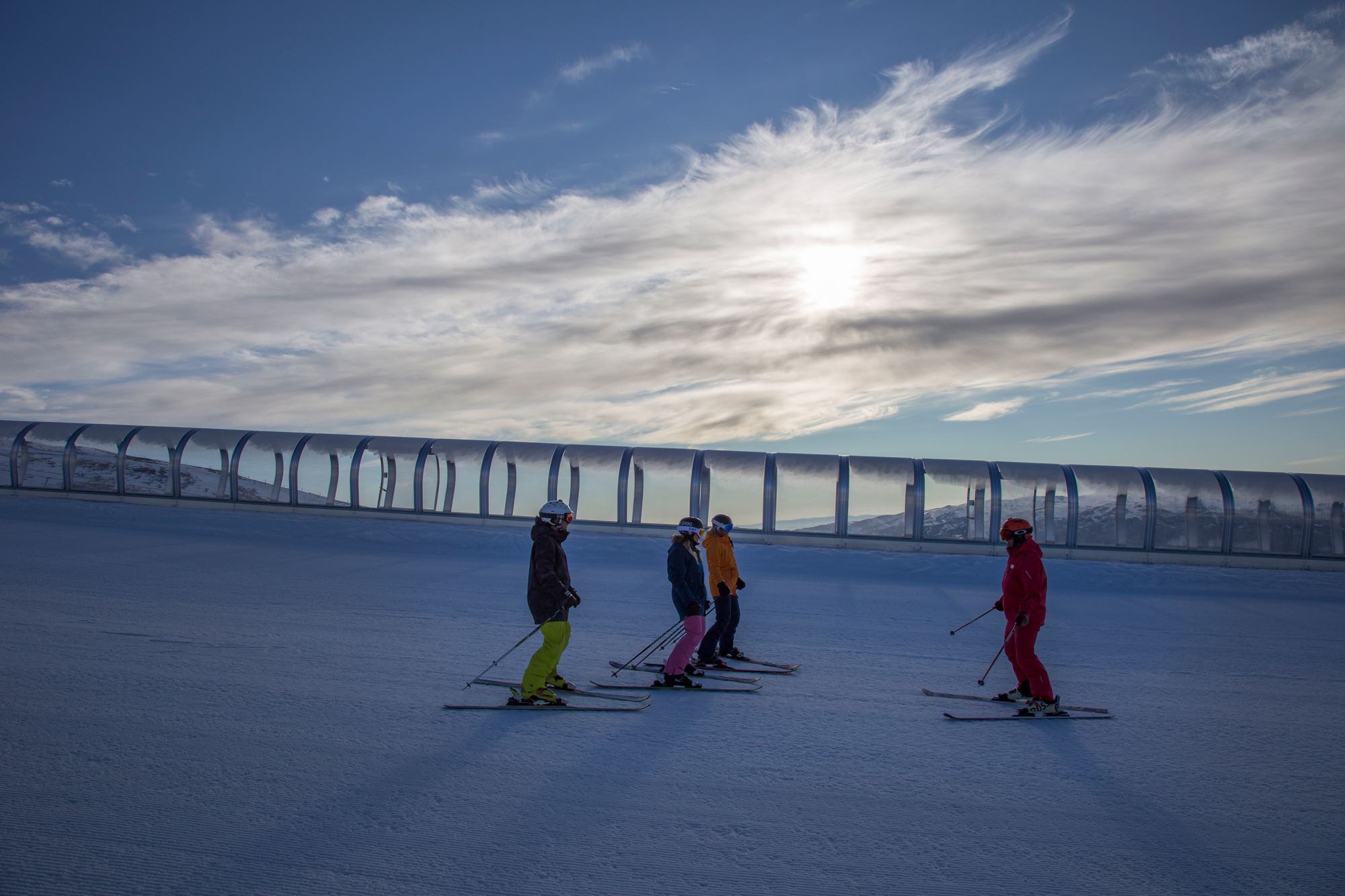 Cardrona ski snowboard lessons winter New Zealand first timer
