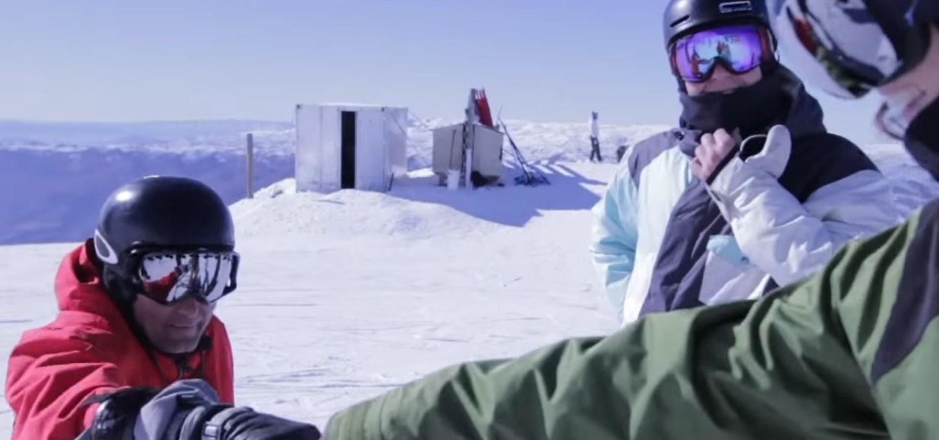 Cardrona ski snowboard lessons winter New Zealand ski school