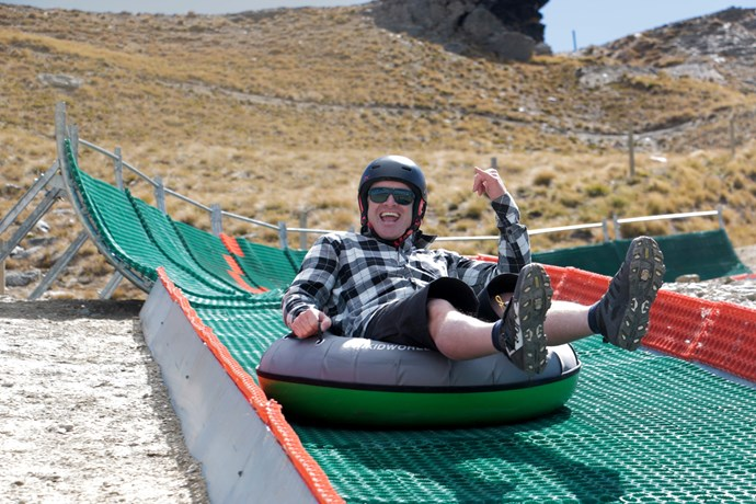 Cardrona Alpine Resort summer tubing