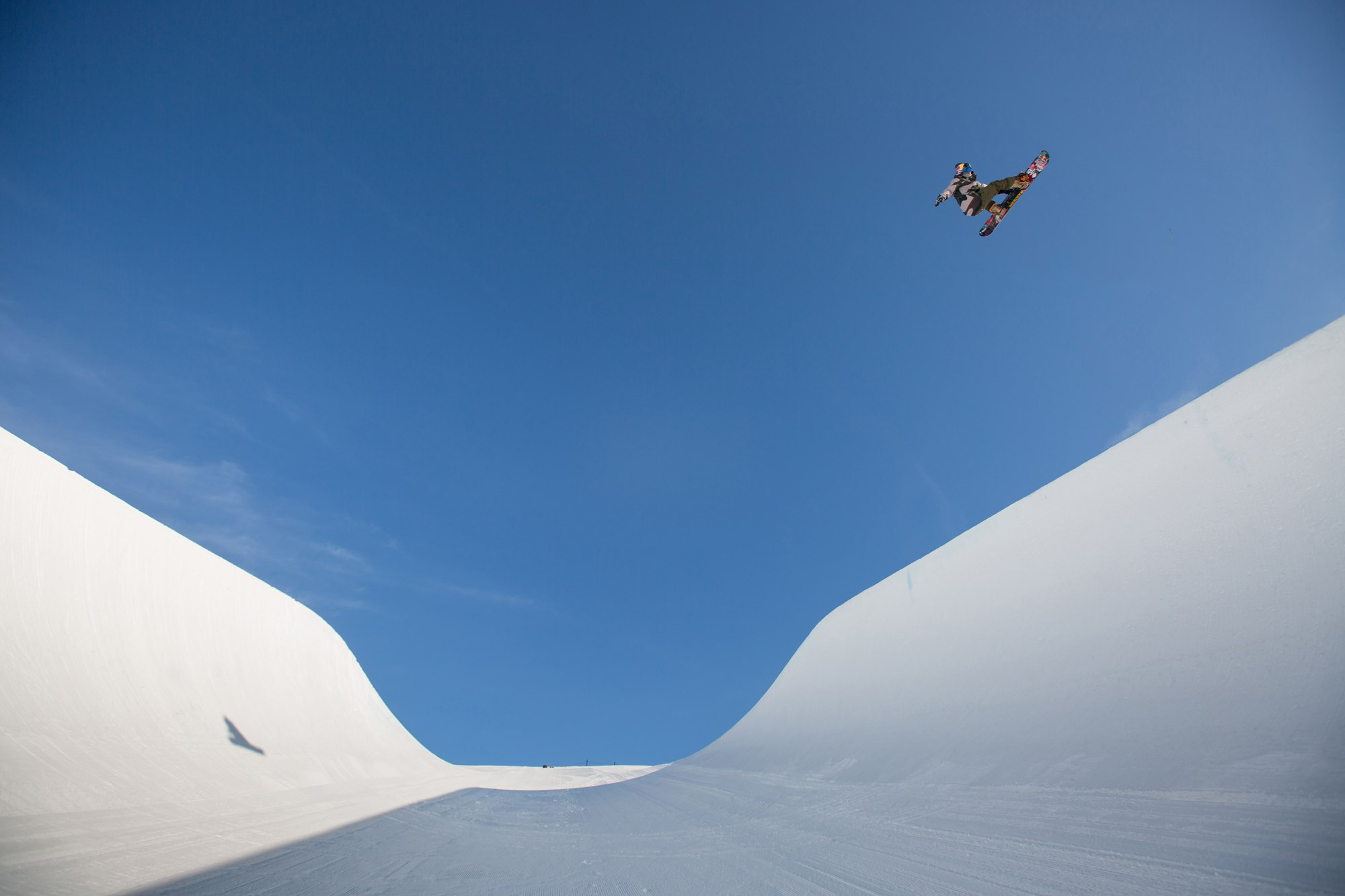 Cardrona Alpine Resort Olympic Half Pipe Louie Vito