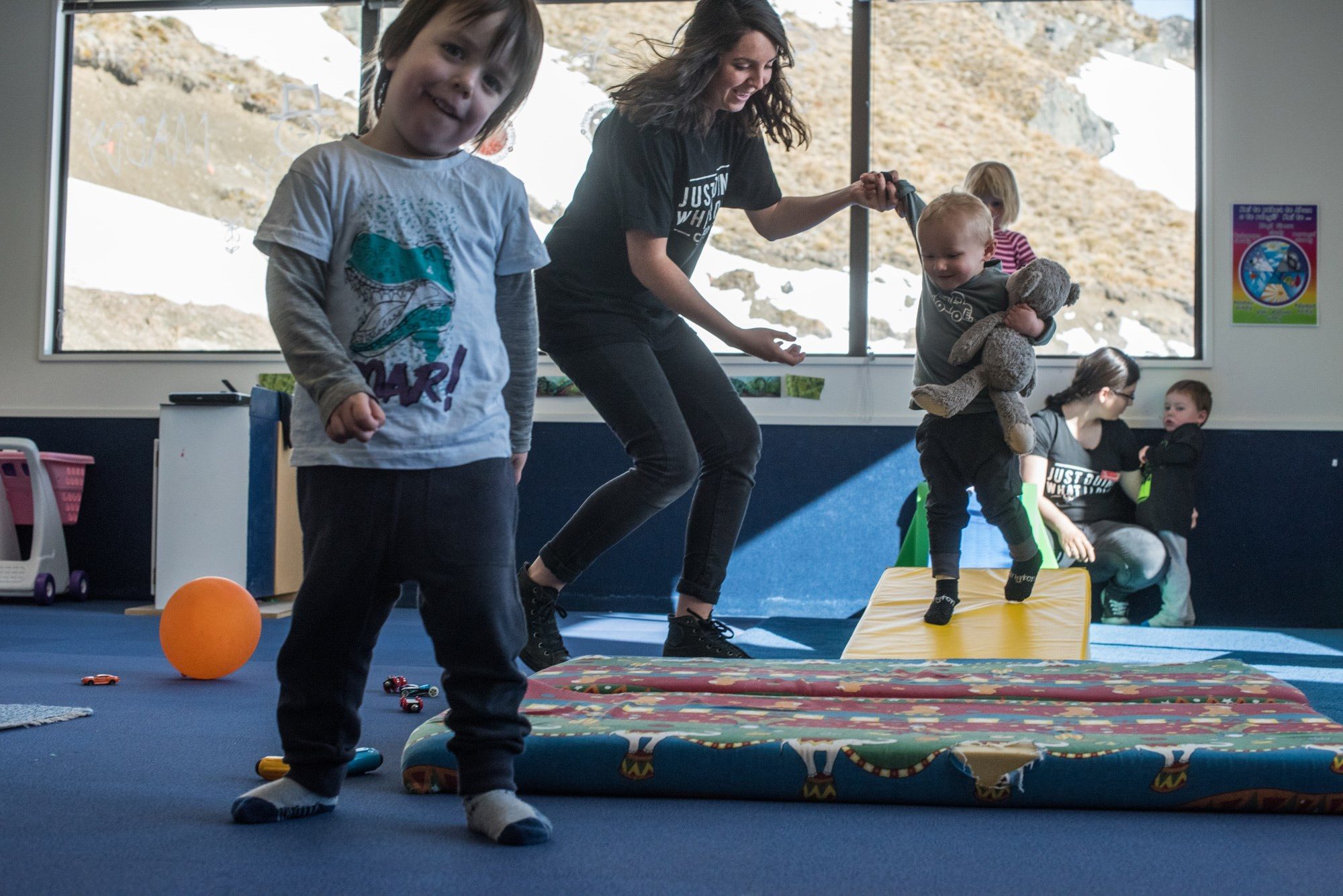 Kindy fun at Cardrona Alpine Resort Childcare