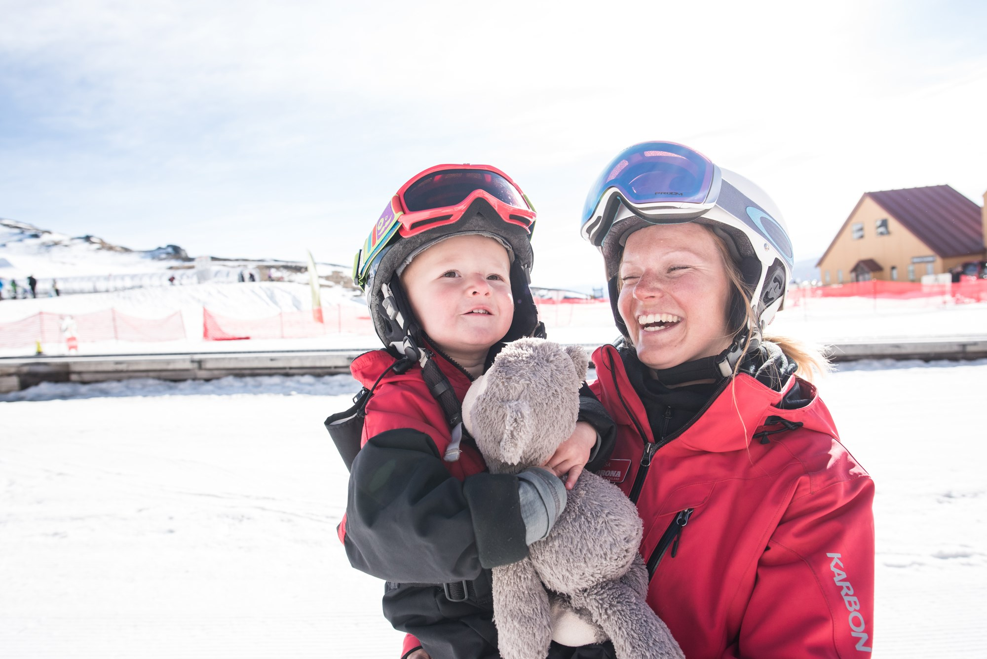Kindy ski lessons & childcare Cardrona Alpine Resort