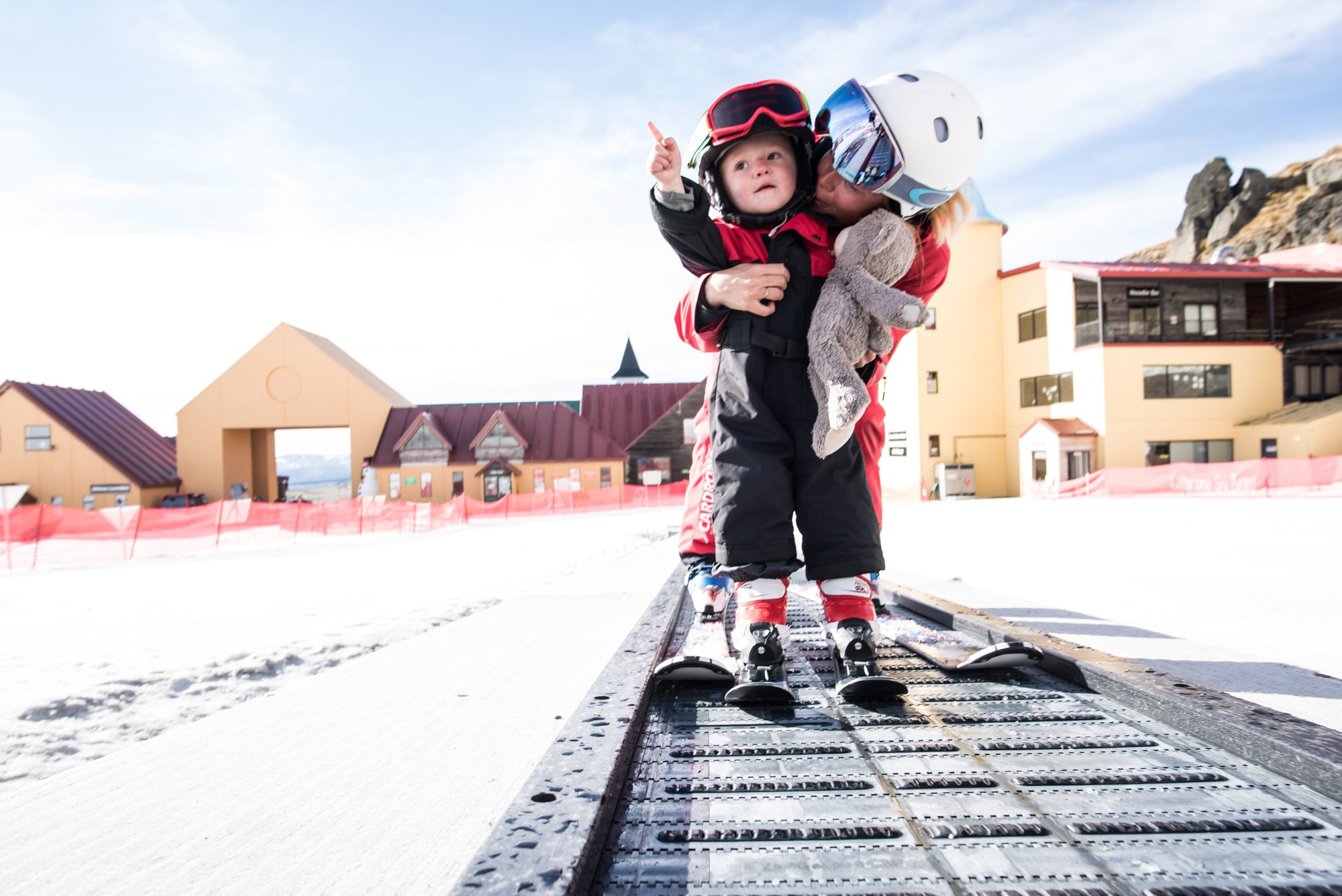 Cardrona Alpine Resort learn to ski childcare