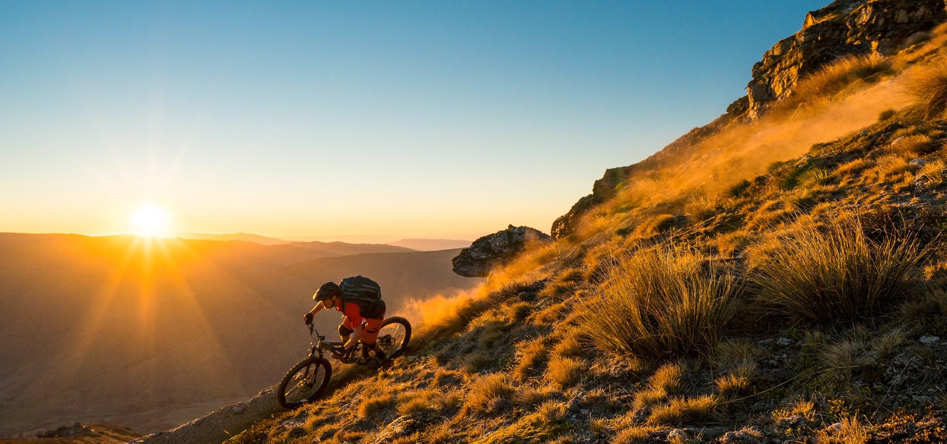 mountain biking in nz s highest bike park cardrona nz