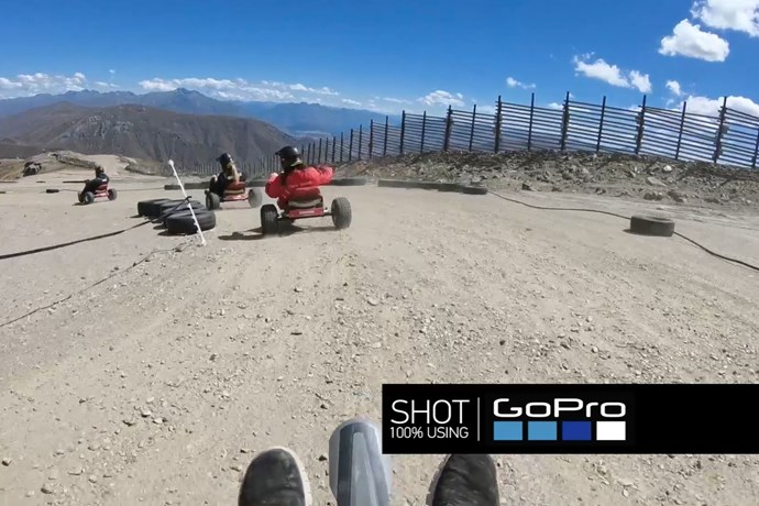 NZ S Only Mountain Carting Experience Cardrona NZ