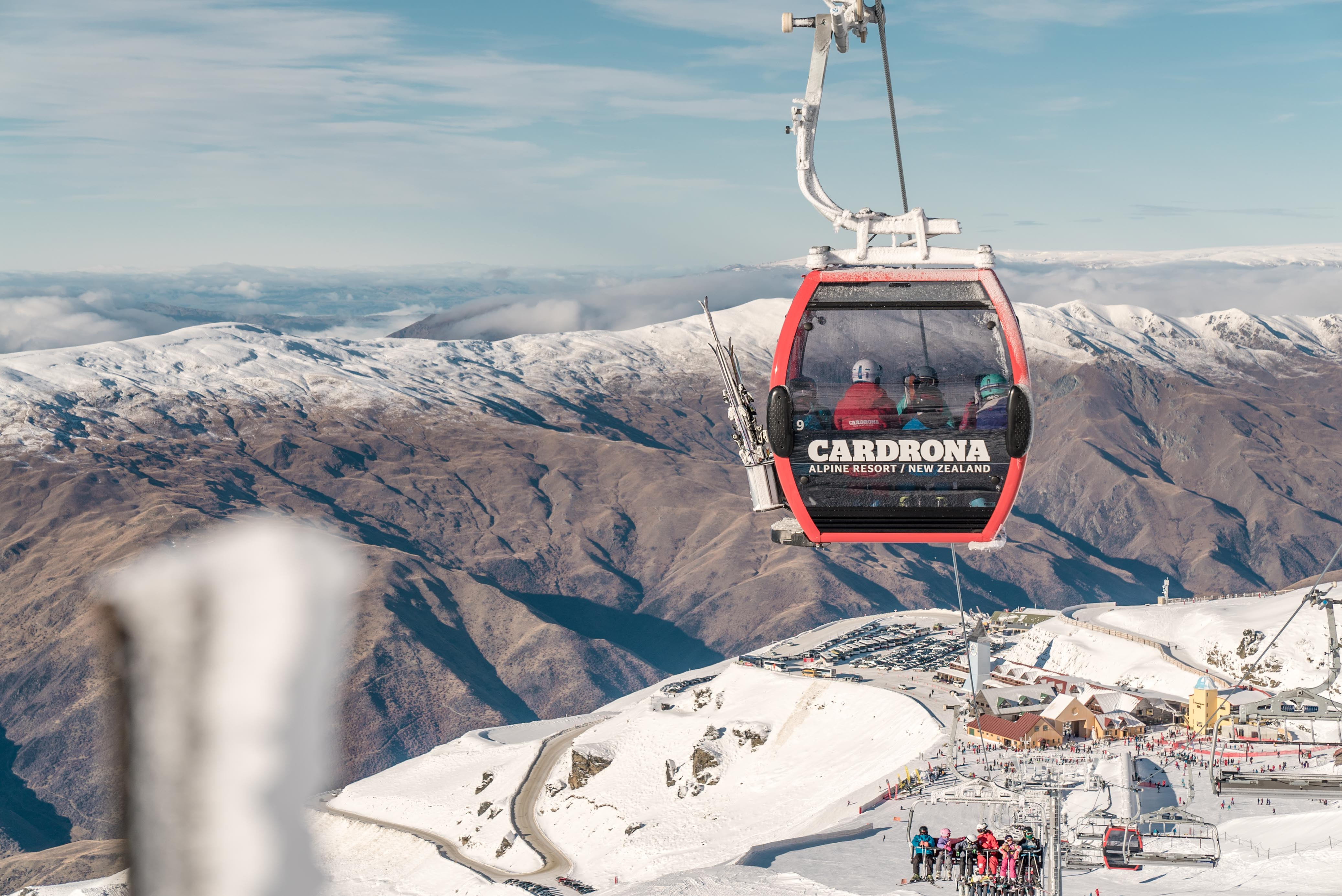 Cardrona how to ski and snowboard