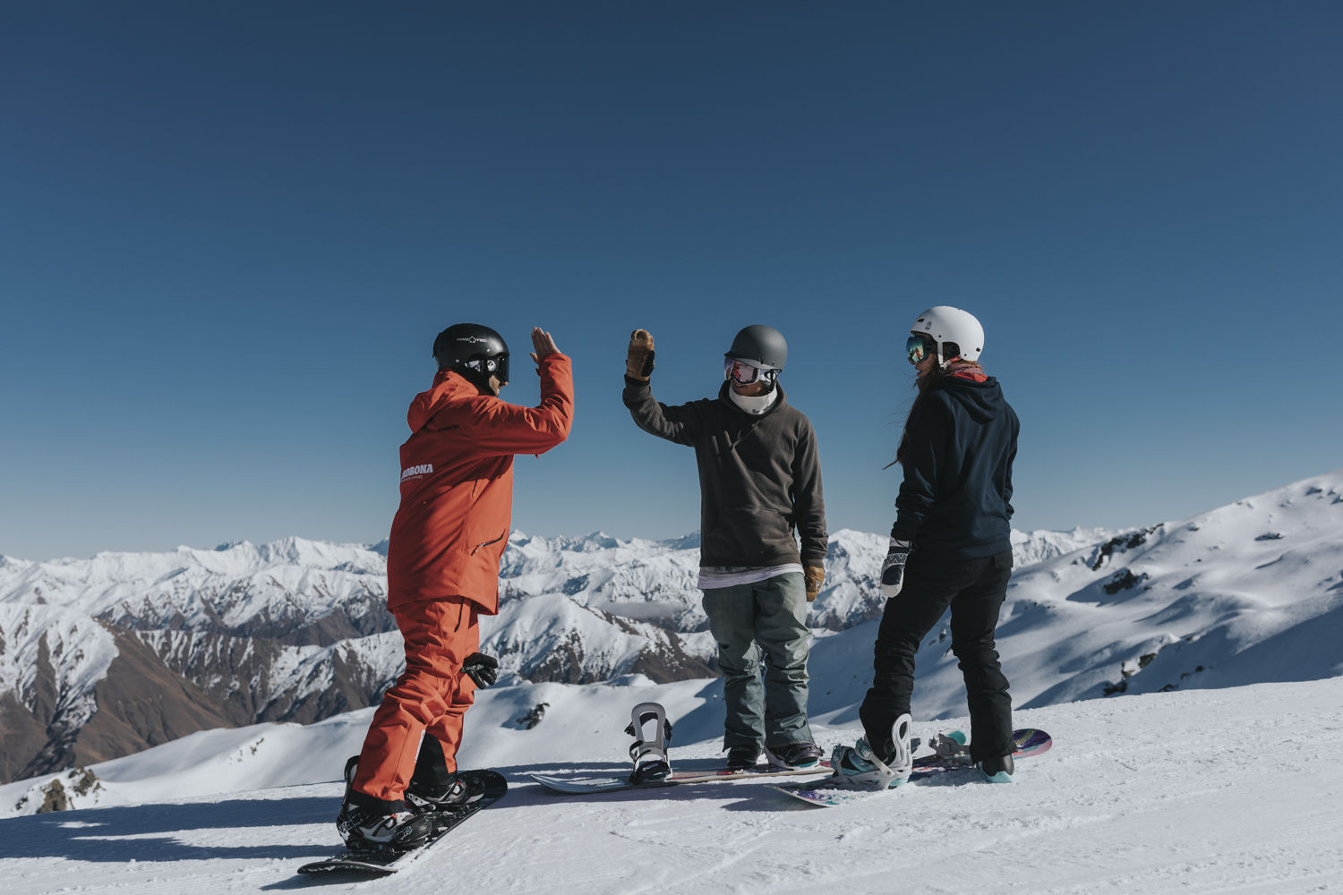 Cardrona ski snowboard lessons winter New Zealand private
