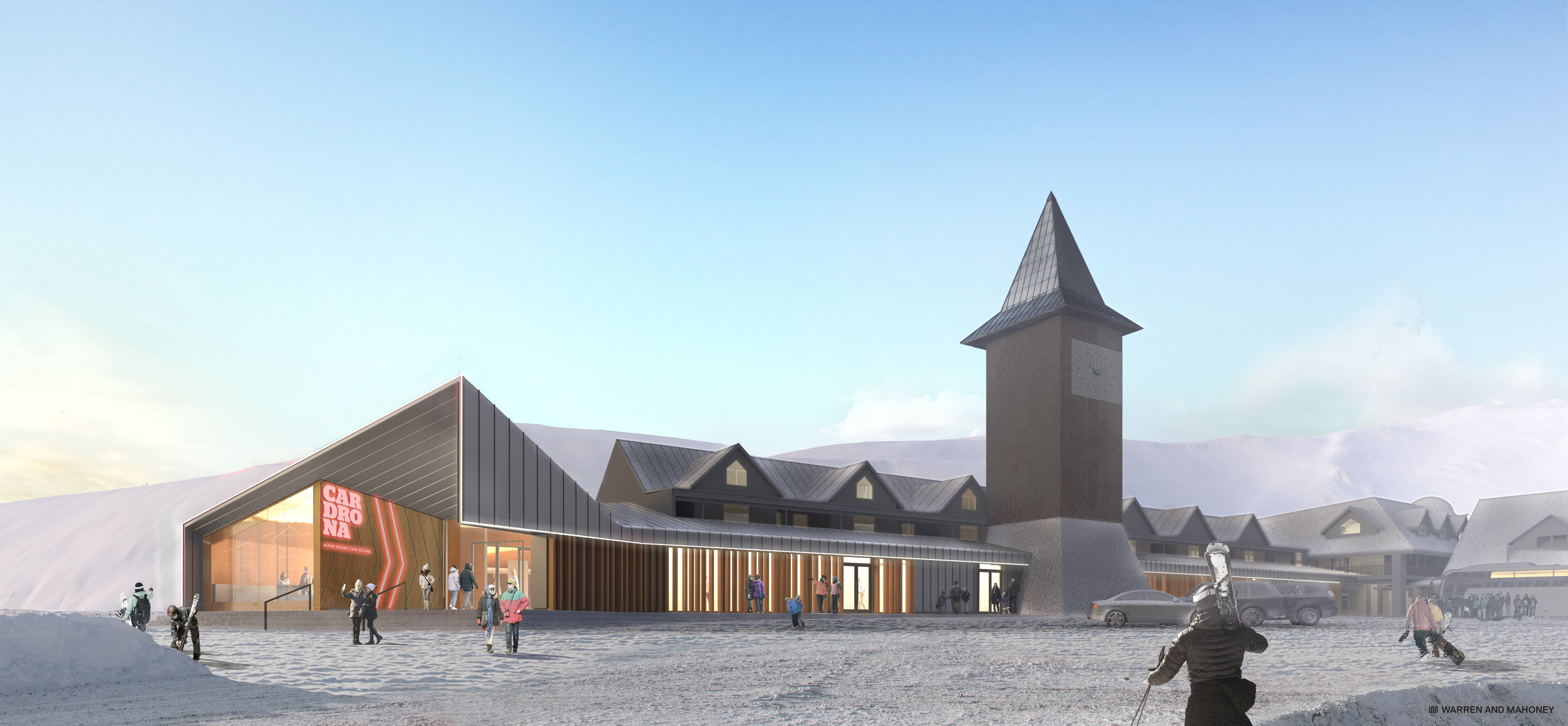 cardrona new ticket office for 2019