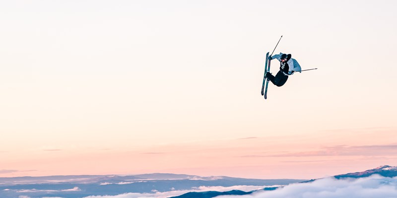 cardrona big air jump ski snowboard parks New Zealand