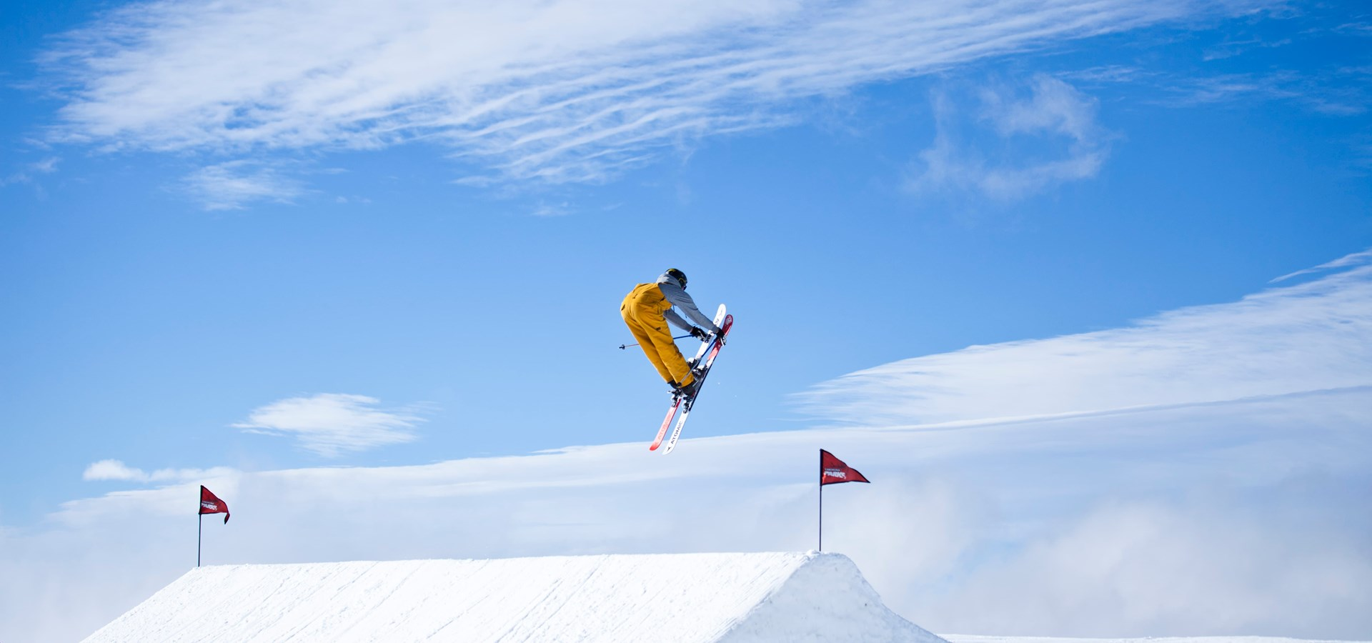 Cardrona Park Crew Jump ski snowboard winter New Zealand